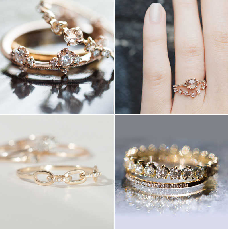 1e8a58b3c6030 Not a Fan of Big Brands? Unique and Beautiful Handmade Wedding Bands ...