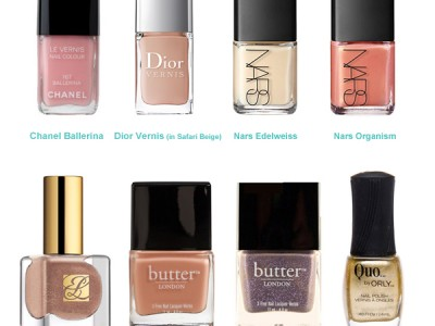 10 Bridal Friendly Nail Colors