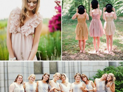 68 Fashion Inspiration for Bridesmaids & Groomsmen