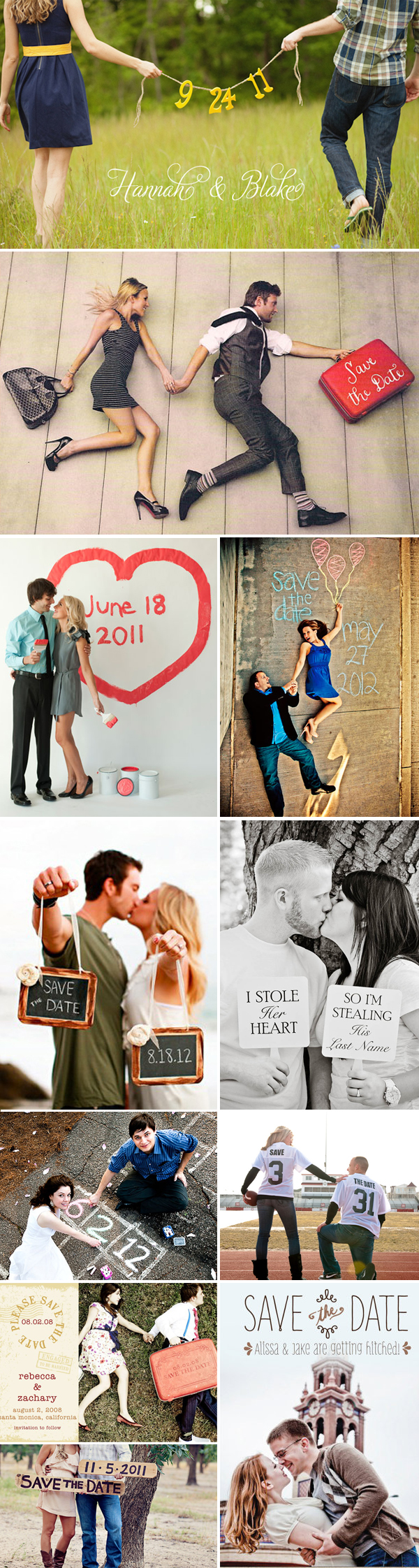 58 Creative Save-the-dates - Praise Wedding