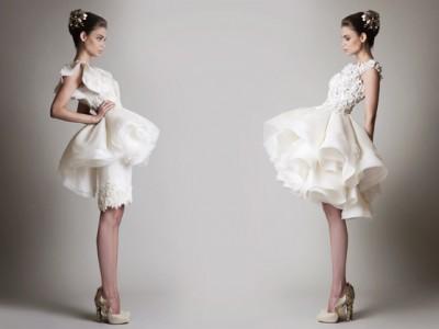 32 Chic Short Wedding Dresses