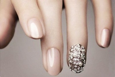 25 Creative Bridal Nail Art