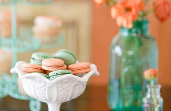 Wedding Color Palette Mint Green Peach Praise Wedding