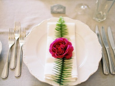 24 Beautiful Place Settings