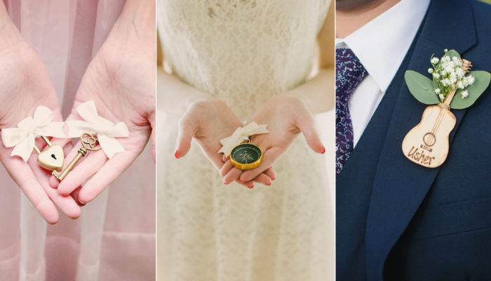 24 Creative and Fun Non-Floral Boutonniere Alternatives For Grooms and Groomsmen!