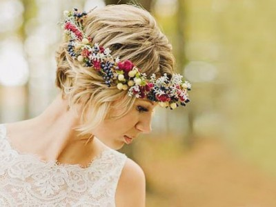 33 Chic Short Bridal Hairstyles