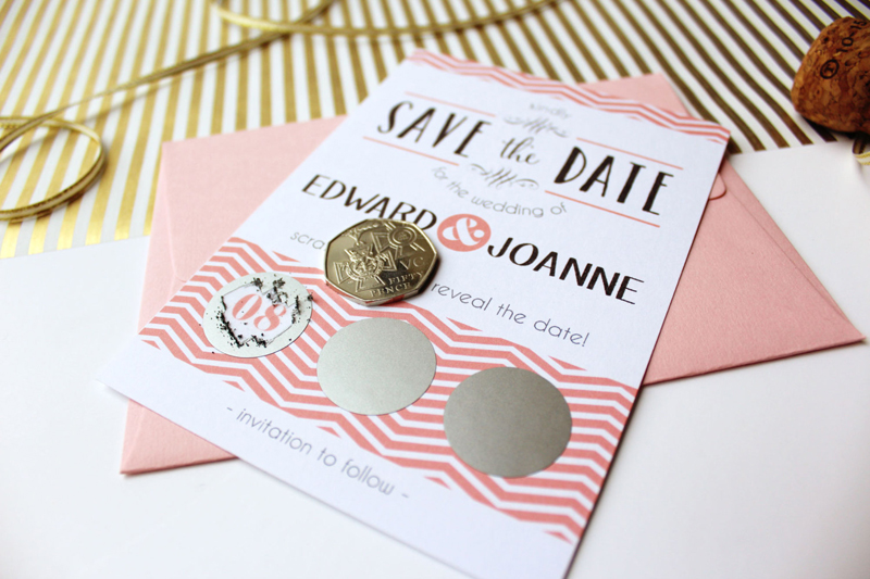 14-Scratch Off Save the Date Cards