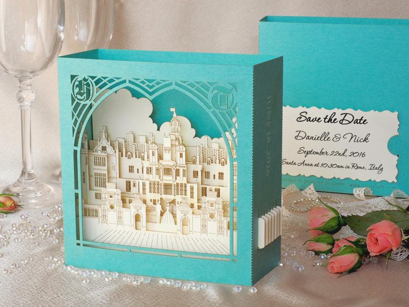 3D Castle Invitation