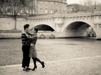 Romantic Engagement in Paris from Juliane Berry
