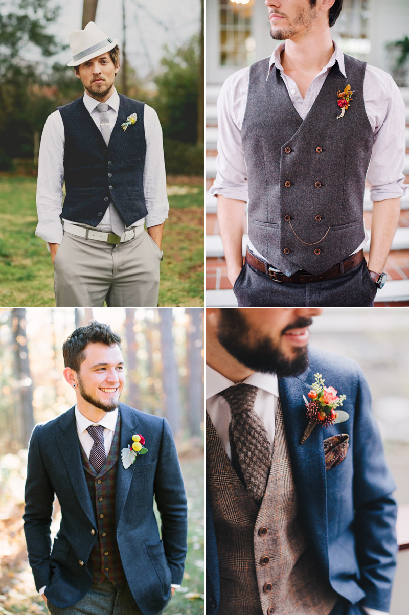 How To Style Your Groom Vintage? Ways and Items to Create the ...
