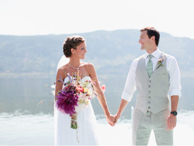 Shuswap Lake Wedding from Jamie Delaine