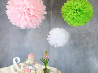 Pops of color – Pom Pom Decor