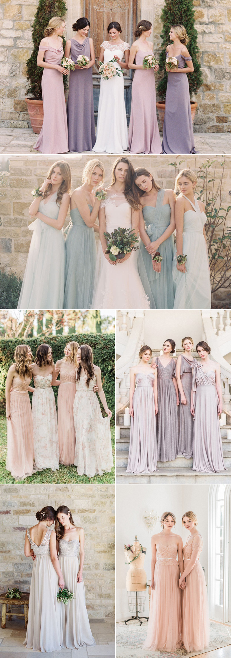 30 dreamy bridesmaid dresses for your romantic wedding praise jenny yoo ombrellifo Choice Image