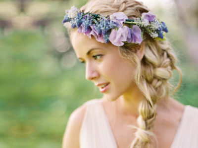 27 Down-to-earth Bridal Floral Crowns