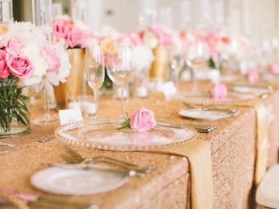 35 Gorgeous Glittering Wedding Ideas