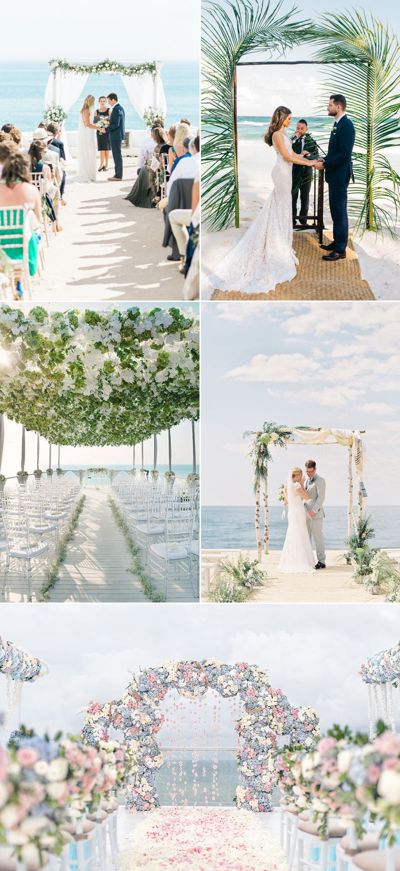 5c3ab466a 23 Romantic Beach Themed Wedding Ideas! - Praise Wedding