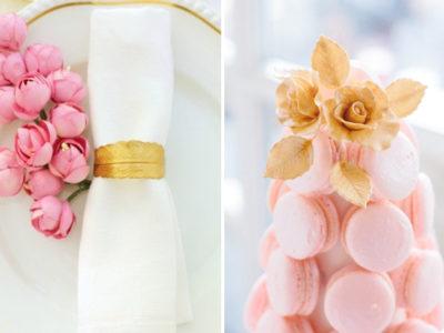 Pink x Gold Wedding Palette