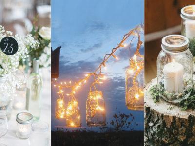 DIY Mason Jar Décor! 24 Creative Ways to Use Mason Jars at Your Wedding!