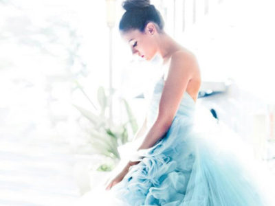 27 Beautiful Colored Wedding Dresses