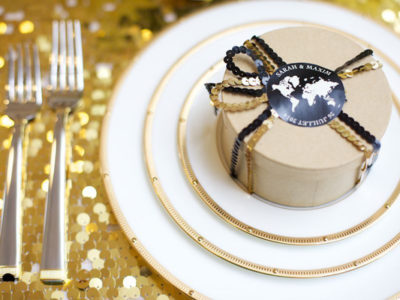 Luxe Black x Gold Wedding Inspiration