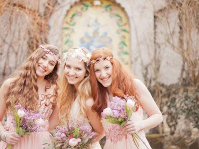 Romantic Bohemian Bridal Style Ideas