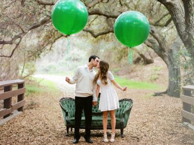 Emerald Wedding Palette