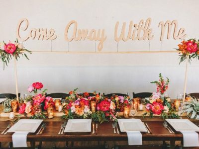14 Lovely Head Table Décor Ideas