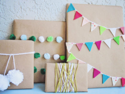 21 Creative DIY Gift Wrap Ideas