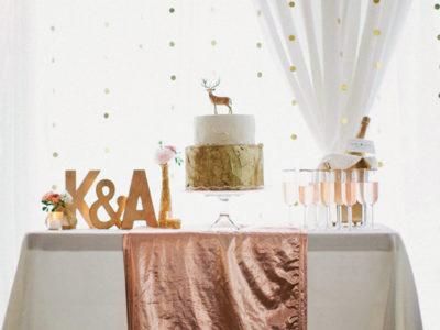 Rose Gold Wedding Palette Inspiration