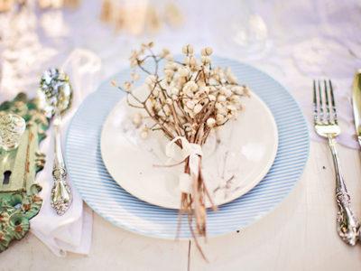 20 Winter Wedding Place Setting Ideas