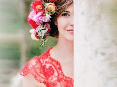 Poppy Red Wedding Palette