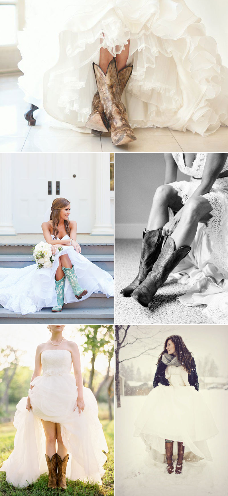 Here Comes the Bride in Boots! 40 Stylish Wedding-Worthy Boots We ...