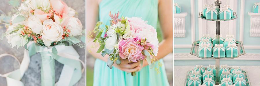 Tiffany-inspired Wedding Designs