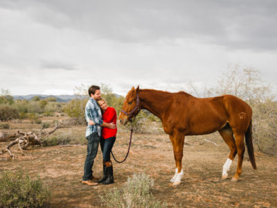 Beautiful Arizona Desert Engagement from BAKEPHOTOGRAPHY