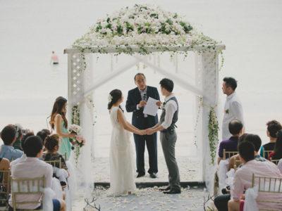 Tiffany Blue Malaysia Emerald Bay Wedding (from Daren Chong)