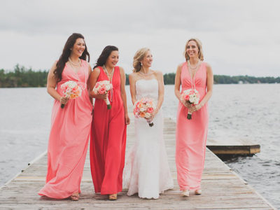 Romantic Lakeside Wedding from Rowell Photography