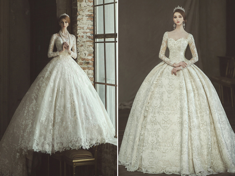 23 Timeless Regal Wedding Dresses Fit for Queens and Princesses ...