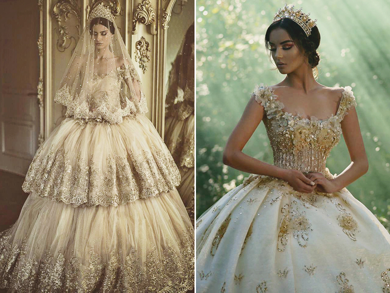 Wedding Dresses For Queens : Timeless regal wedding dresses fit for queens and