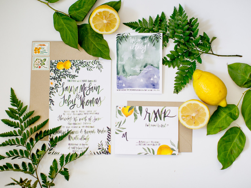06-Lemon & Greenery Italy Inspired Suite