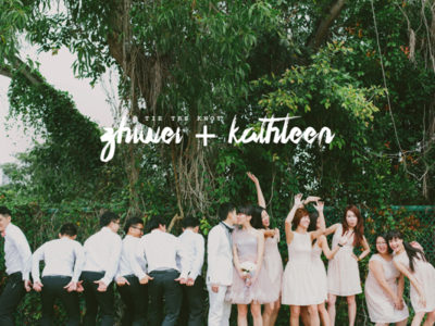 You Are My Joy – Sweet Singapore Wedding from Bloc Memoire