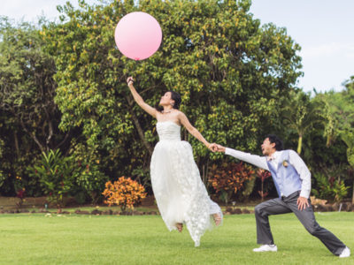 Hawaii DIY Destination Wedding from Allen Fu Photography