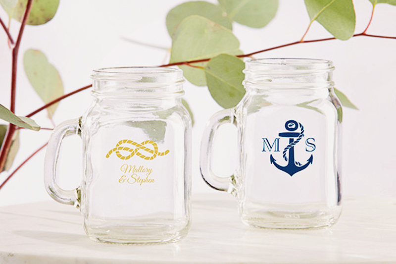 18-Personalized Mini Mason Glass 1