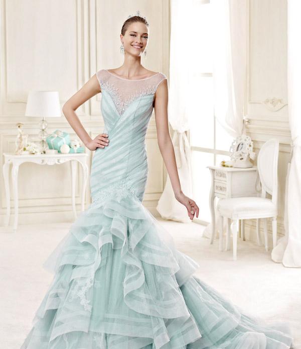 Unique Wedding Dresses With Color: 30 Unique Wedding Dresses For Fashion-forward Brides