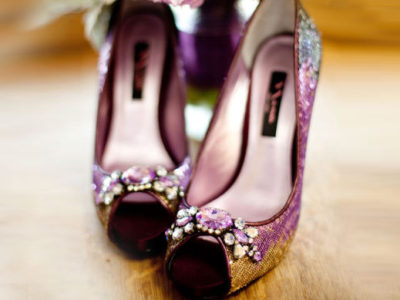 Glamorous Fall Wedding Palette – Purple x Gold