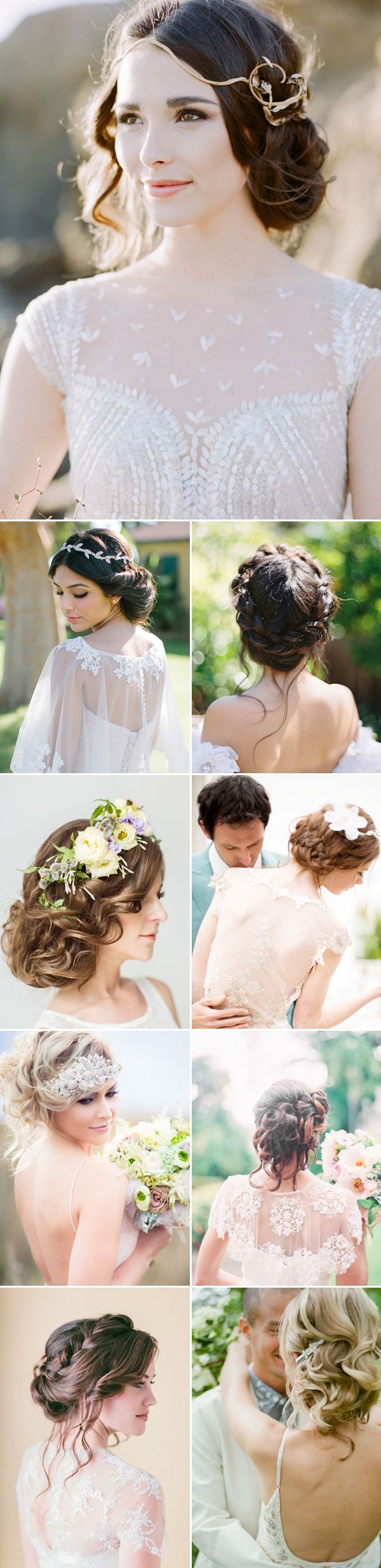 Effortless Beauty! 20 Most Naturally Romantic Bridal Updos! - Praise ...