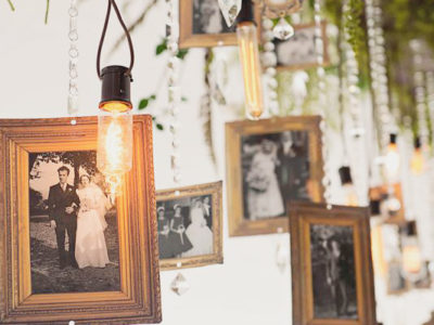 Share Your Love Story! 27 Cool Ways to Display Photos at Your Wedding