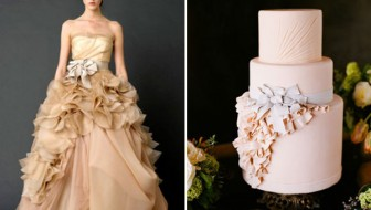 01-Vera Wang gown inspired cake by Cupcakes Couture