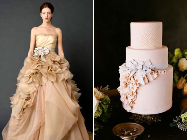 Like Dress Like Cake 23 Wedding Dress Inspired Cakes