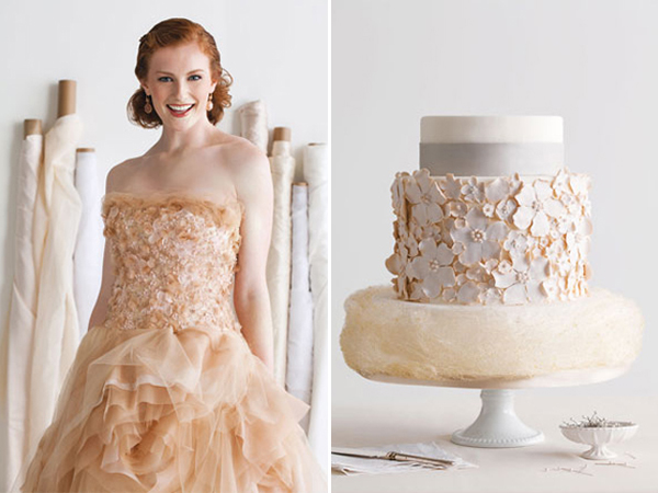 17-Vera Wang dress and cake by Cakes to Remember