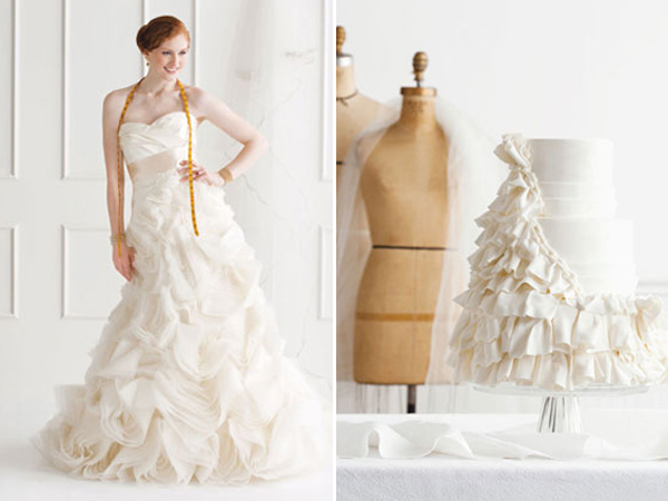 23-Vera Wang dress and cake by Sweet Alternatives2